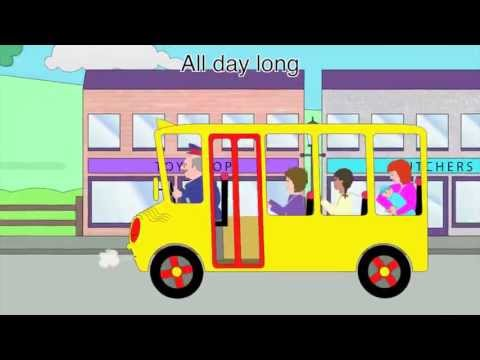 Nursery Rhymes - The Wheels on the Bus (all day long version)