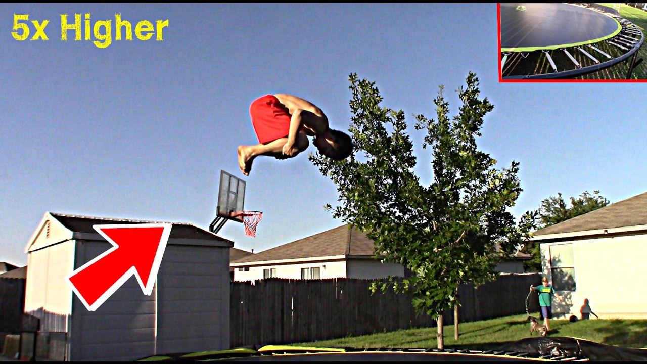 HOW TO MAKE YOUR TRAMPOLINE BOUNCIER (any trampoline ...