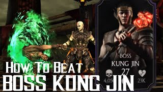 How to beat Boss Kung Jin | Mortal Kombat X | iOS, Android