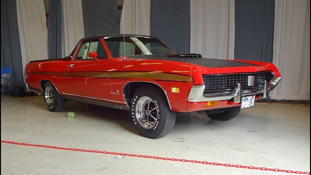 1971 Ford Ranchero Gt In Red Amp 429 Cobra Jet Cj Engine