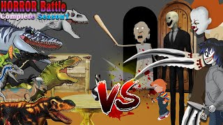 Granny Vs Dinosaurs Animation -10 Horror Stories Animated (Compilation of Jan. 2020)