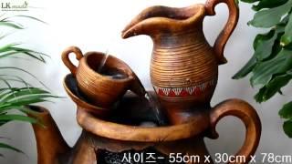 [LKmade] 인테리어 실내가습기 DW72087 커피…