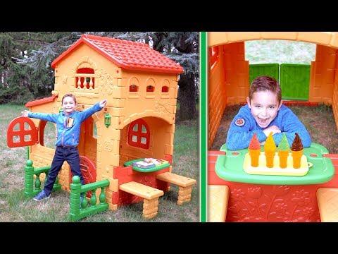 LA VILLA D'ÉTÉ DE SWAN ☀️- Une nouvelle cabane pour jouer !