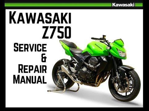 Service And Repair Kawasaki Z750 Download Manual