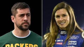 Danica Patrick FINALLY CONFIRMS She and Aaron Rodgers are Gettin It In 👉🏻👌🏻