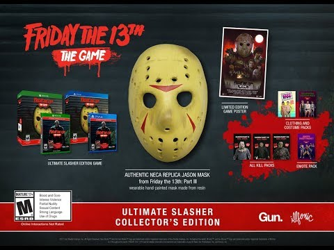 Издания Ultimate Slasher и Ultimate Slasher Collector игры Friday the 13th: The Game!