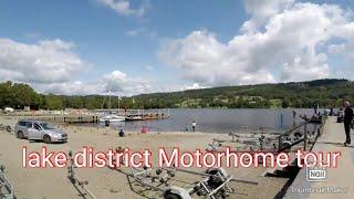 Lake district motorhome tour (Part 4) Coniston, Park Coppice caravan and Motorhome club site