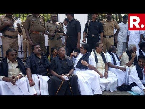 CM Vs Kiran Bedi: Puducherry CM Narayanasamy Protest Outside L-G Kiran Bedi's Residence Mp3