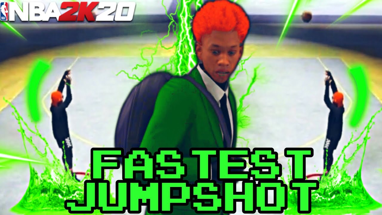 I USED THE FASTEST JUMPSHOT IN NBA2K20 and couldn't TIME IT!