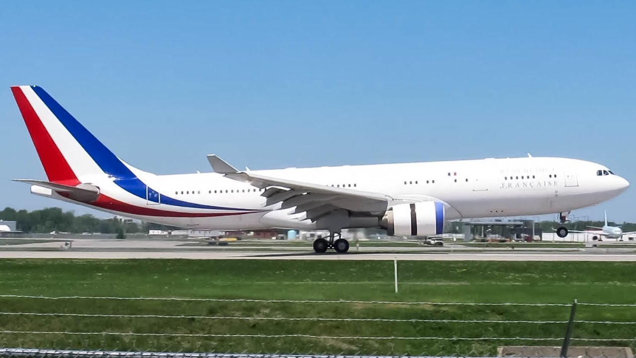 Download French Air Force Airbus A330-200 (A332) landing in Montreal (YUL/CYUL)