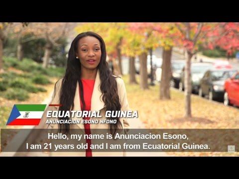 EQUITORIAL GUINEA, Anunciacion Esono Nfono - Contestant Profile: Miss World 2016