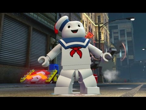 LEGO Dimensions – Stay Puft Marshmallow Man Open World Free Roam (Character Showcase)