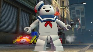 LEGO Dimensions - Stay Puft Marshmallow Man Open World Free Roam (Character Showcase)