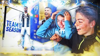 JEG PACKET 99 TOTS RONALDO! 😱🔥 TEAM OF THE SEASON PACK OPENING! 🏆