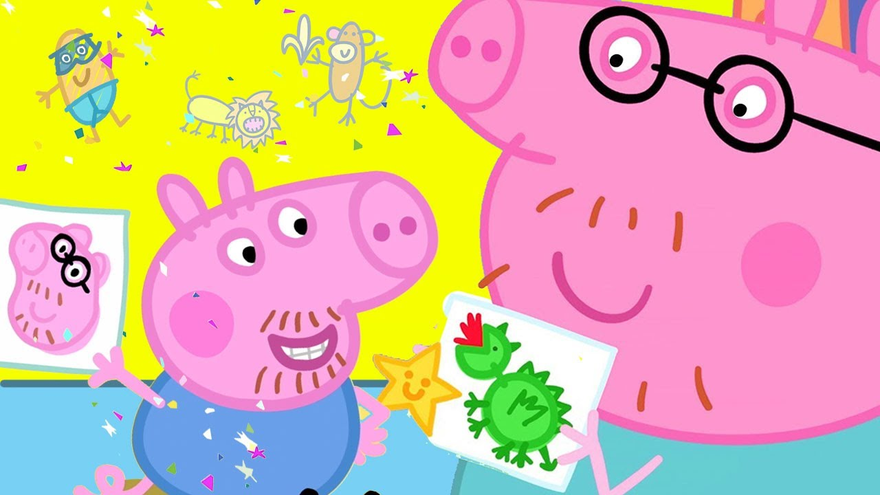 Peppa Pig Official Channel | Daddy Pig Gets a Playgroup Star!