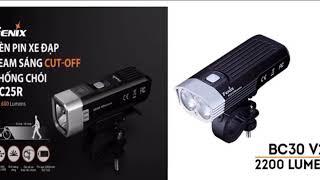 Đèn xe đạp thể thao - siêu sáng   Chuyên Tactical
