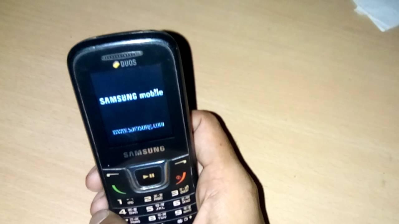 samsung GT-E1282T PHONE UNLOCK Easy solution - YouTube