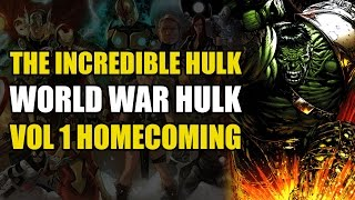 Worldbreaker Hulk vs Iron Man's Hulkbuster (World War Hulk Vol 1: Homecoming)