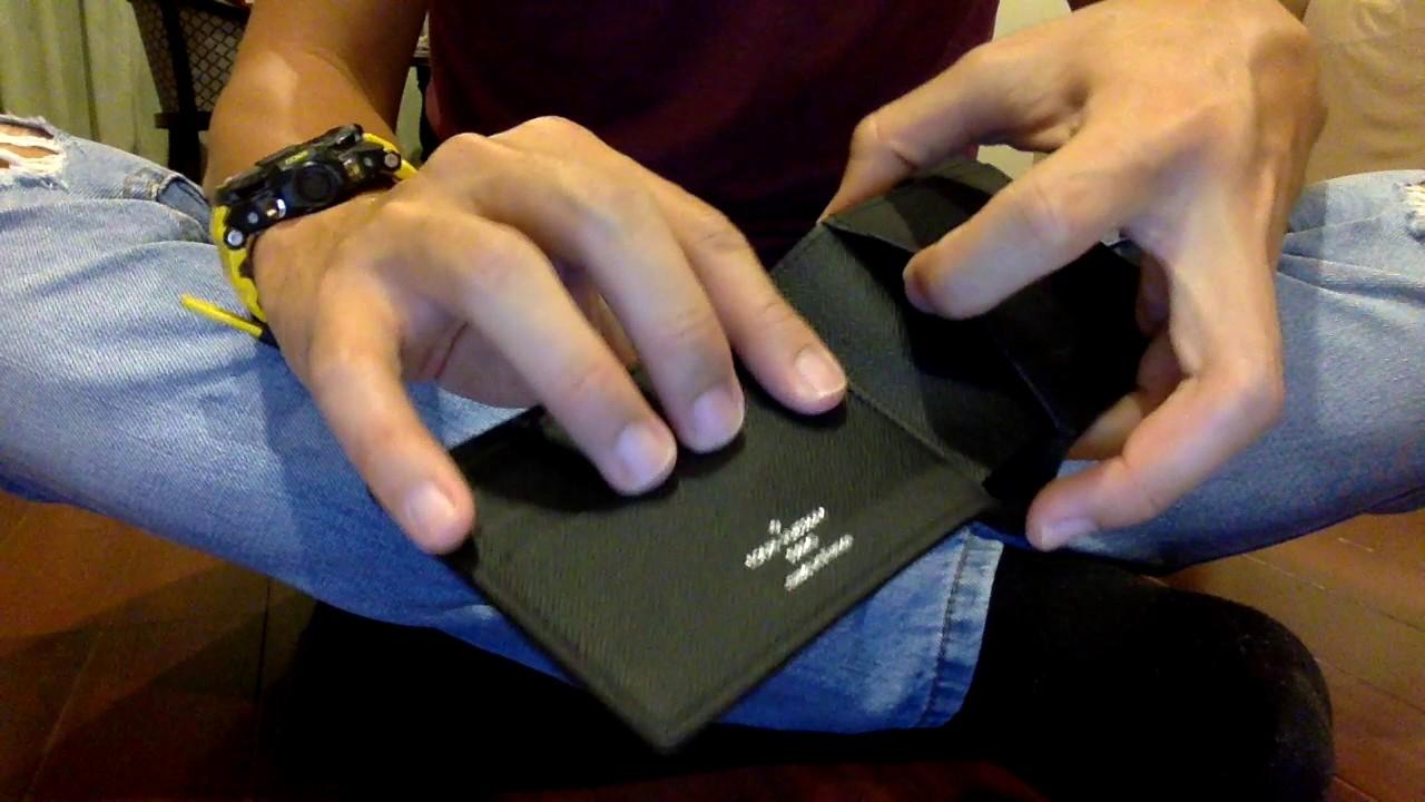 e4f79b99f6c3 Louis Vuitton Eclipse Multiple Wallet Unboxing - YouTube