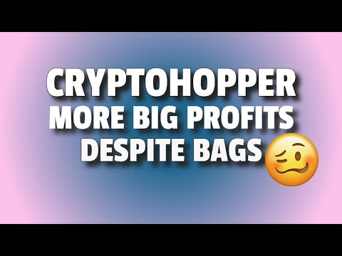 CryptoHopper Update 17 – My Automated Crypto Trading Bot Gave Me More Nice Profits Despite Bags 🤑