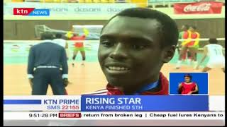 Kenya's Pamela Adhiambo exhibits great talent at Africa U-20 Volleyball Championship