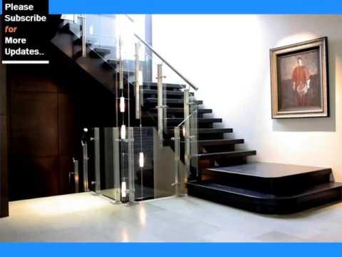 Stainless Steel Staircase Railing With Glass Staircase