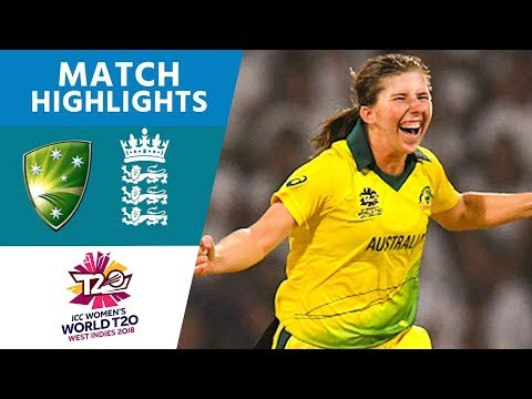 Australia v England - Women's World T20 2018 highlights