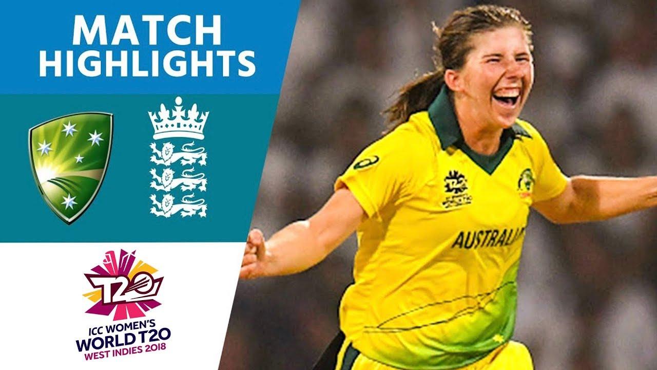 Australia v England - Women's World T20 2018 highlights