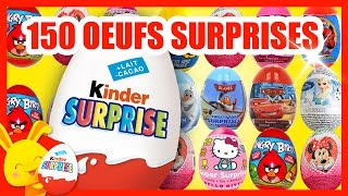 Oeufs kinder surprises - Infinimix, reine des neiges, cars - Eggs surprises - Titounis