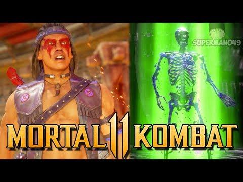 "I Got The Klassic Nightwolf Brutality! - Mortal Kombat 11: ""Nightwolf"" Gameplay"