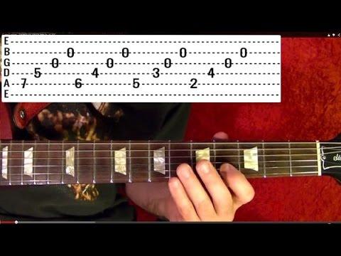 ENTER SANDMAN 🔷 Metallica (1 of 2)🔷 Guitar Lesson - YouTube