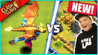 "...IT'S HERE!!! ▶️ Clash of Clans ◀️ IMMORTAL GOLDEN DRAGON ""HOG MOUNTAIN CHALLENGE"""