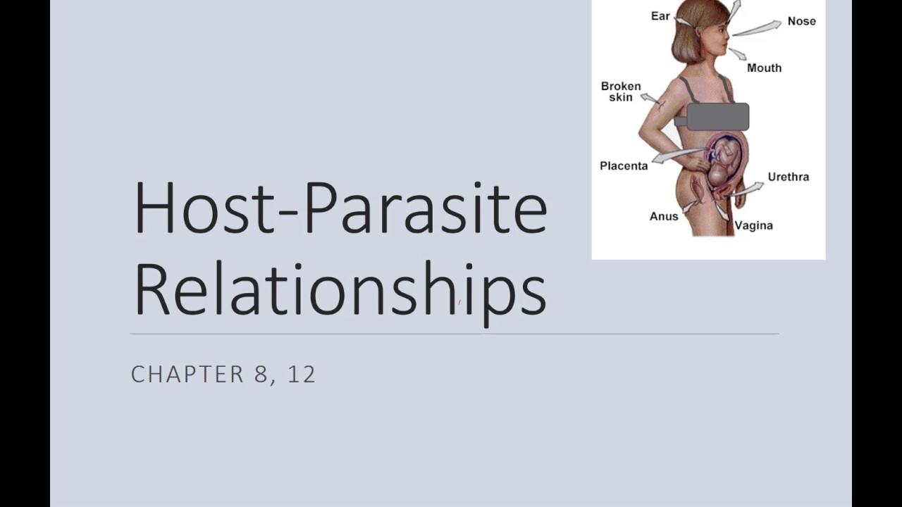 Parasite relationships