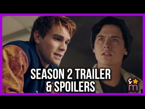 7 Big RIVERDALE Season 2 Reveals + Season 2 Comic Con Trailer & Bloopers | Lisa's Cheat Sheet