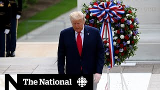 Trump Shuns Masks At Memorial Day Events