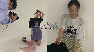 VLOG 패션 룩북 촬영 날📷 인생 증명사진ㅣ행궁동 나들이ㅣ폰 꾸미기
