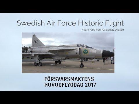 Swedish Air Force Historic Flight - F21 2017