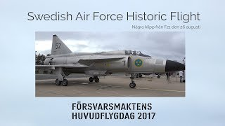 swedish air force historic flight f21 2017
