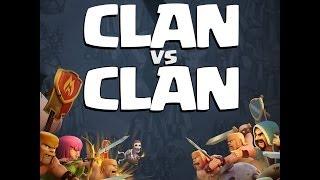 Clash of clans - Grosse guerre de clan !