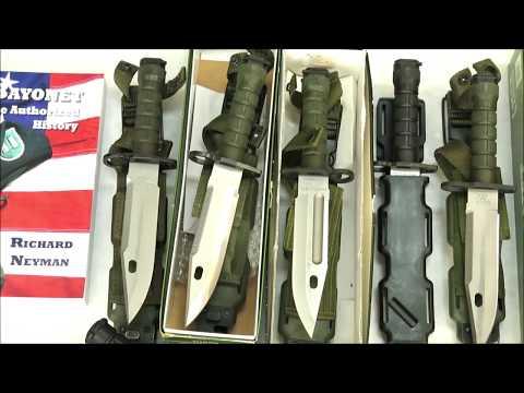 Buck 188 Phrobis M9 Bayonet MFK CUK Knife Collection History Review