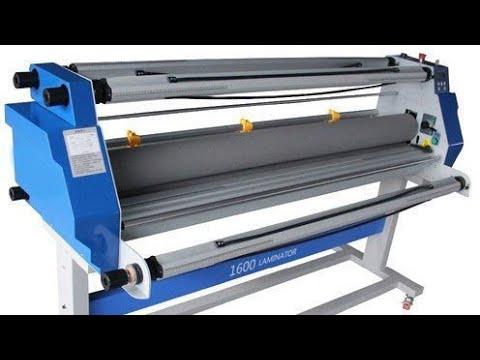 Laminator Machine Sticker Pasting