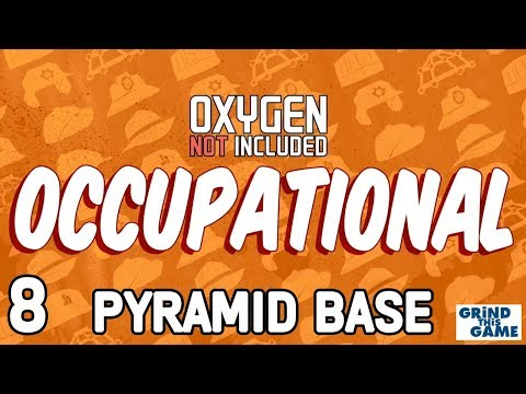 CONVEYORS & TUBES! - PYRAMID BASE #8 - Oxygen Not Included - Occupational Upgrade