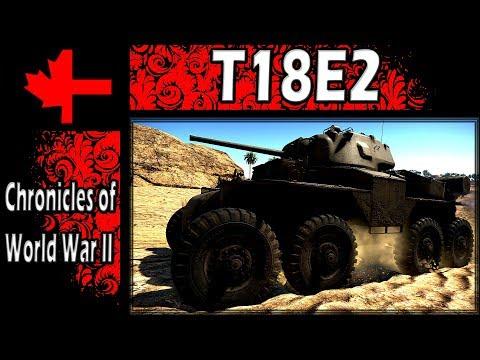 War Thunder - Chronicles of World War II - T18E2
