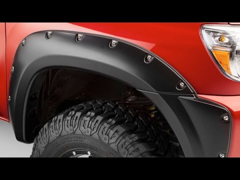 Bushwacker Pocket Style Fender Flares Installation On