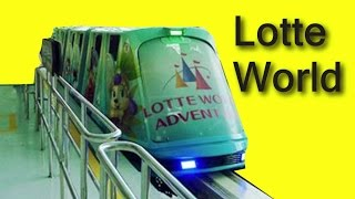 ★ Monorail in Lotte World, South Korea [롯데월드 모노레일]