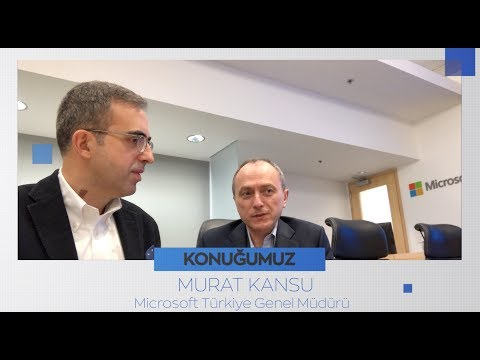 Dijital CEO ile Teknoloji Sohbetleri - Murat Kansu / Microsoft Türkiye