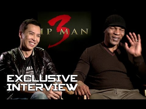 Donnie Yen \u0026 Mike Tyson Exclusive Interview - IP MAN 3 (2016)