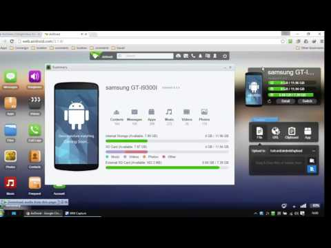 Airdroid review - android remote access - YouTube