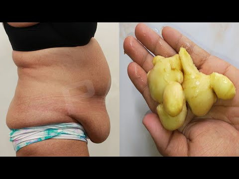 How to Lose Weight Fast With Ginger at Home | No Strict Diet No Workout