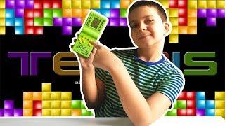 Тетріс Привіт З 90-х! 9999 Ігор в 1! Іграшка 90-x років Тетріс Brick Game Розвиває Мізки